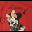 92-98-as piros tunika - Minnie Egér