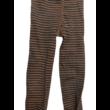 134-es barna-fekete csíkos csillogó harisnya