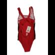 134-140-es piros-fekete fürdőruha - ÚJ