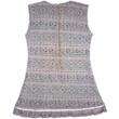 134-es csillogó szövet hatású alkalmi ruha - ÚJ