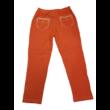 128-as narancssárga farmer hatású leggings - ÚJ