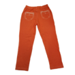 140-es narancssárga farmer hatású leggings - ÚJ