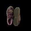 34-es bordó bőr félcipő lánynak - Siesta