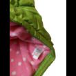 164-es zöld-pink polárral bélelt mellény - Next