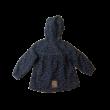 98-as szürkéskék leopárdmintás softshell kabát - Kiki & Koko - ÚJ