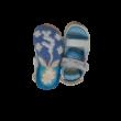 25-ös kék-fehér szandál - Frozen, Jégvarázs - ÚJ