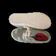 33-as szürke-pink vászoncipő - Pepperts - ÚJ