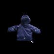 104-es liláskék lány téli kabát, sídzseki - Kiki & Koko - ÚJ