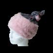 Szürke-rózsaszín szőrmés multifunkcionális nyaksál, körsál - Minnie Egér