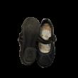 32-es fekete tépőzáras pántos cipő - Miho