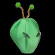 4-6 éves zöld Ufó jelmez, 3 részes - ÚJ