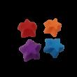 4 db csillag alakú szilikon muffin, sütemény forma - ÚJ
