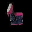 27-es kék-pink bélelt gumicsizma - George - ÚJ