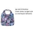 Praktkus mandalás bevásárlótáska, összehajtható (drapp) - ÚJ