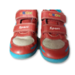 25-ös piros-kék tépőzáras félcipő - Geox