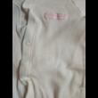 80-as fehér pamut rugi rózsaszín felirattal - F&F