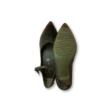 39-es hegyesorrú magassarkú bőr cipő - Tamaris - ÚJ
