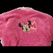 104-110-es rózsaszín szőrmés köntös - Minnie Egér