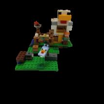 Minecraft lego szett 21140