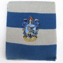 Kék-szürke csíkos kötött sál - Harry Potter - ÚJ