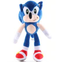 28 cm-es plüss figura - Sonic - ÚJ