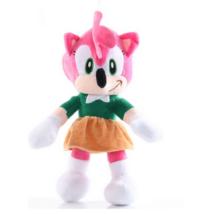 28 cm-es plüss lány figura - Sonic - ÚJ