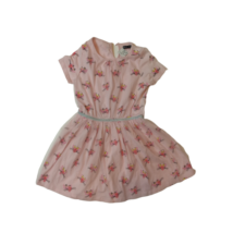 128-as rózsaszín párducos tüllös ruha - Reserved