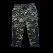 Női L-es khaki terepszínű térdig érő leggings - ÚJ