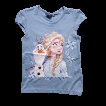 116-os kék póló - Frozen, Jégvarázs - ÚJ