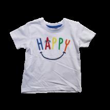 80-as fehér feliratos fiú póló - Ergee - ÚJ