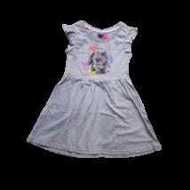 122-es szürke nyuszis ruha - Kiki & Koko - ÚJ