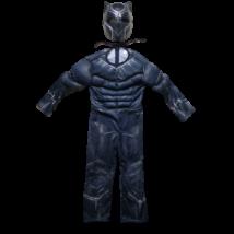 3-5 évesre izmosított Fekete Párduc jelmez álarccal - ÚJ