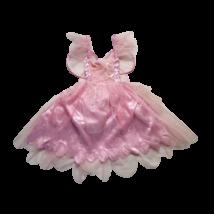 3-5 évesre rózsaszín szárnyas tündérruha