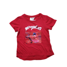 104-es piros hologramos póló - Miraculous - Csodálatos Katicabogár - ÚJ