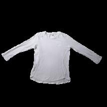 164-es fehér lány pamutfelső - Zara