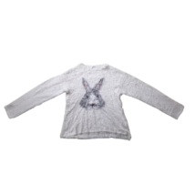 152-es fehér nyuszis pulóver - Zara