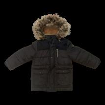 104-es szürke fiú télikabát - C&A
