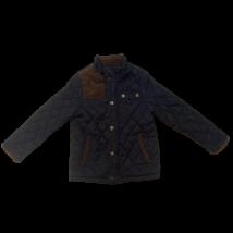 128-as kék steppelt átmeneti kabát - Zara