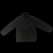 128-as fekete steppelt fiú átmeneti kabát - Rebel