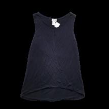 Női XS-es fekete ujjatlan póló - H&M
