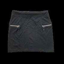 158-as fekete pamut miniszoknya - H&M