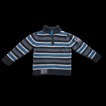 98-as szürke-kék csíkos kötött pulóver - C&A