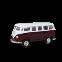 Bordó-fehér kisméret busz - Wolksvagen