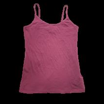 Női L-es mályvaszínű pántos póló - Amisu