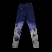 164-170-es kék lovas leggings
