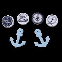 Hajós mintájú díszgombok - ÚJ