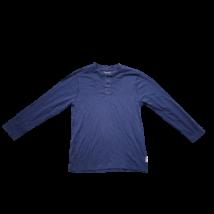 134-es kék gombos pamutfelső - Zara