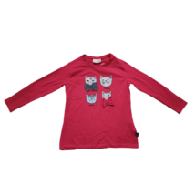 122-es piros cicás pamutfelső - Coccodrillo
