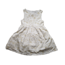 128-as fehér alapon virágos ujjatlan ruha - Losan