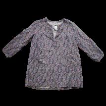 116-os lila virágos tunika - Petit Bateau